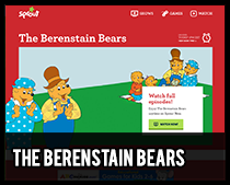 berenstain bears games and songs